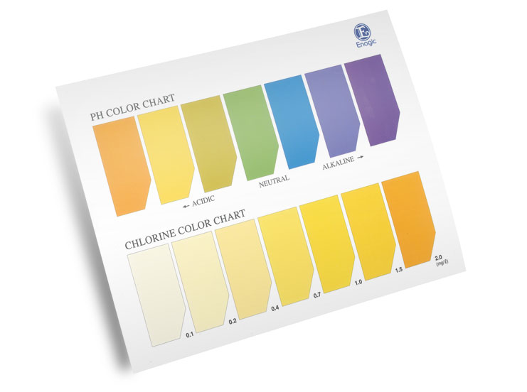 Marketing Materials Brochures Ph Color Chart
